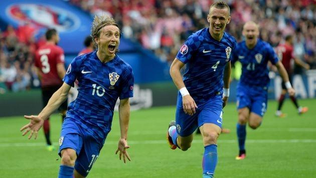 Kroaten nehmen Revanche für Wien-Niederlage (Bild: AFP)