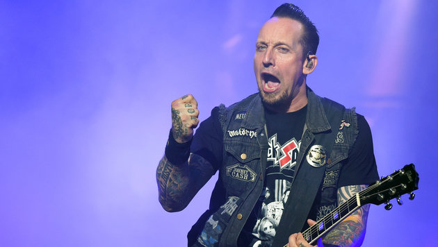 Volbeat (Bild: HERBERT P. OCZERET / APA)