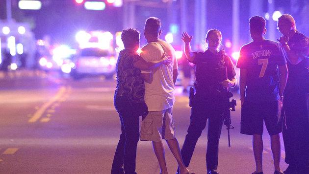 Orlando nach dem blutigen Klub-Massaker (Bild: Associated Press)