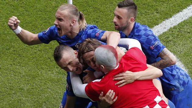 Kroaten nehmen Revanche für Wien-Niederlage (Bild: AP)