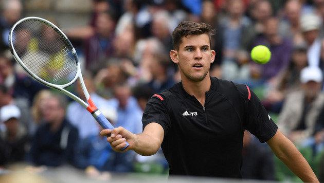 Lospech für Thiem! In Wimbledon gleich gegen Mayer (Bild: AP)