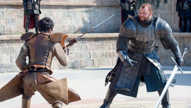 """Haftór Björnsson in """"Game of Thrones"""" (Bild: HBO)"""