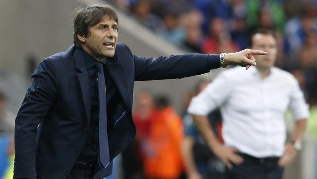 Italiens Teamchef Antonio Conte (Bild: AP)