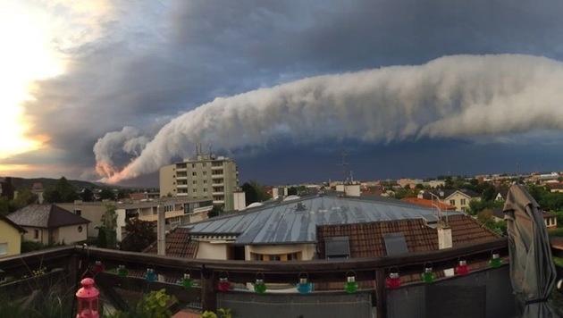 Auf Rollmops-Wolke folgt Hitze-Tag (Bild: David Besemer)