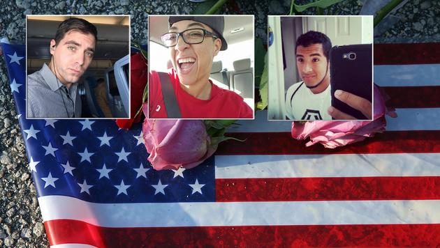 Orlando trauert um die Opfer des IS-Killers. (Bild: Facebook, Instagram, AP)