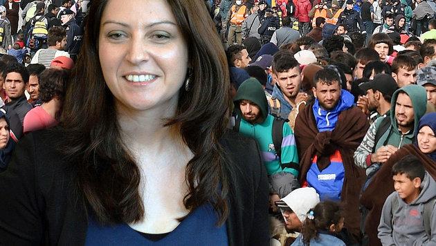 """Duzdar:  """"Keine Gefängnisinseln für Flüchtlinge"""" (Bild: APA/HERBERT P. OCZERET, APA/ROLAND SCHLAGER)"""