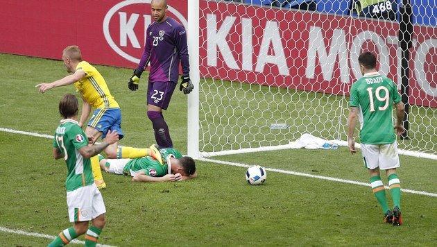 Eigentor-Pech! Iren schenken Schweden einen Punkt (Bild: AP)