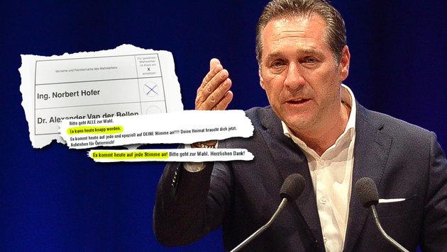 """FPÖ beklagt """"psychischen Druck"""" via Facebook (Bild: APA/Barbara Gindl, facebook.com)"""