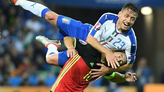 Italien nimmt Rote Teufel Belgiens auf die Hörner! (Bild: AFP)