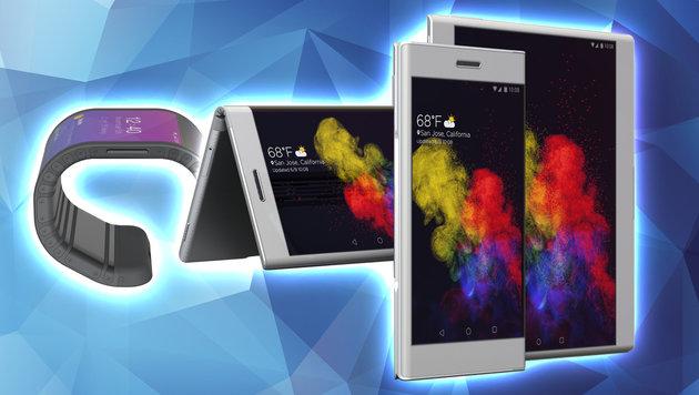 Lenovo Tech World: Das sind die Handys der Zukunft (Bild: Lenovo, thinkstockphotos.de)