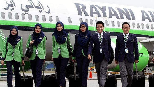 Malaysia: Scharia-Airline muss wieder dichtmachen (Bild: EPA/AFIQ RAZALI)