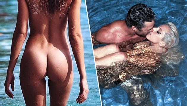Stars beim Nacktbaden (Bild: Viennareport)
