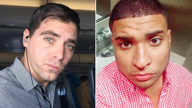 Edward Sotomayor Jr. (34) und Stanley Almodovar III (23) wurden Opfer des Killers. (Bild: Facebook, Instagram)