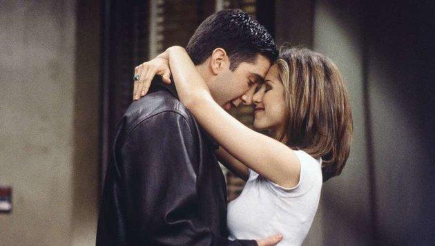 David Schwimmer als Ross Geller, Jennifer Aniston als Rachel Green (Bild: Viennareport)