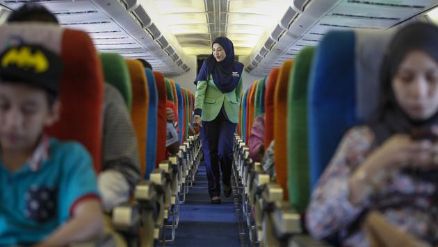 Malaysia: Scharia-Airline muss wieder dichtmachen (Bild: AP)