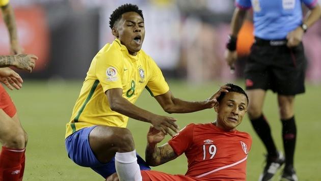 Copa America: Brasilien verpasst Viertelfinale (Bild: AP)