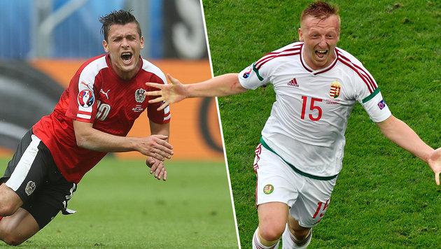 0:2! Ungarn schockt Österreich zum EM-Auftakt (Bild: AFP,AP)
