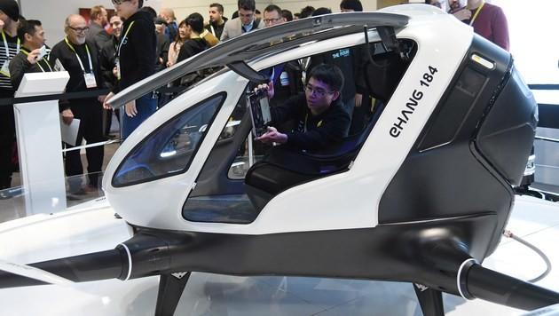 Weltweit erste Passagier-Drohne vor Tests in USA (Bild: APA/AFP/GETTY IMAGES/Ethan Miller)