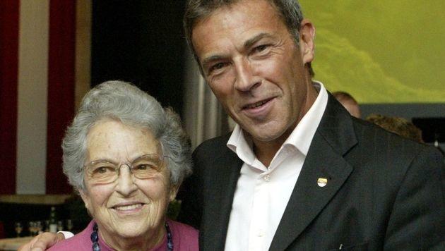 Jörg Haiders Mutter Dorothea ist tot (Bild: APA/GERT EGGENBERGER)