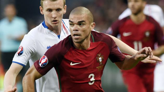 1:1! Wackere Isländer schocken Portugal (Bild: AFP or Licensors)