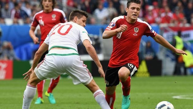 Band eingerissen! Junuzovic fehlt gegen Portugal (Bild: AFP or Licensors)