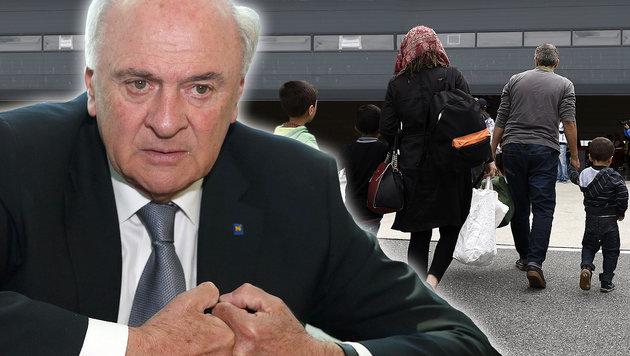 Erwin Pröll: Nicht mehr als 1500 Euro für Familien (Bild: zwefo, APA/Helmut Fohringer)