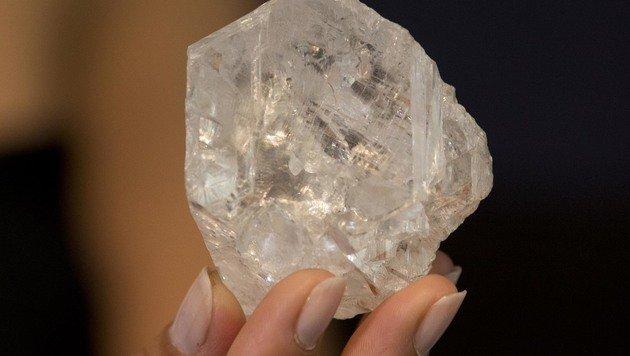 Größter Rohdiamant der Welt wird versteigert (Bild: Associated Press)