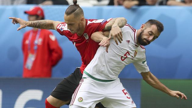 Österreich - Ungarn: Die besten Bilder vom Spiel (Bild: AP)