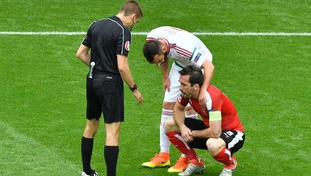 Österreich - Ungarn: Die besten Bilder vom Spiel (Bild: AFP or Licensors)
