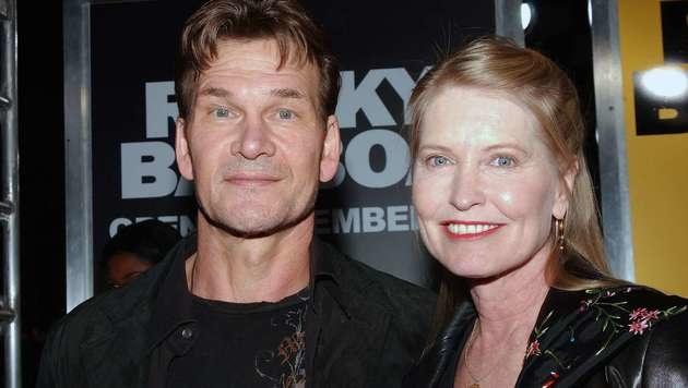 Patrick Swayze und Ehefrau Lisa Niemi (Bild: Viennareport)