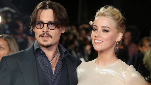 Johnny Depp und Amber Heard (Bild: AP)