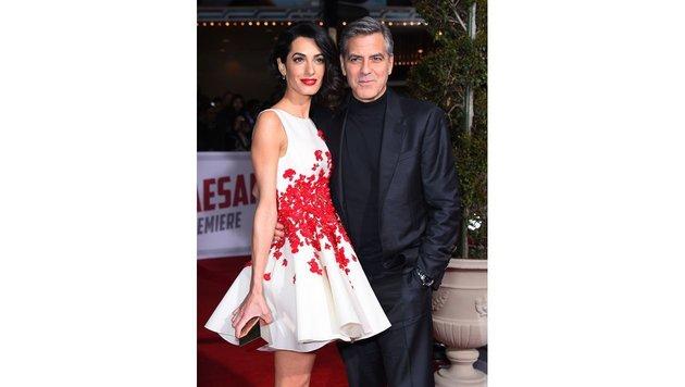 Amal Clooney bei einer Filmpremiere in Los Angeles (Bild: Viennareport)