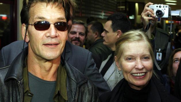 Patrick Swayze und Lisa Niemi (Bild: WOJTEK RADWANSKI/AFP/picturedesk.com)