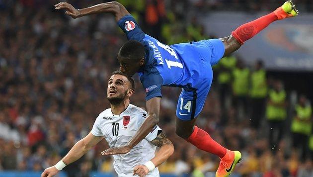 Griezmann & Payet retten Frankreich vor Blamage! (Bild: AFP or Licensors)