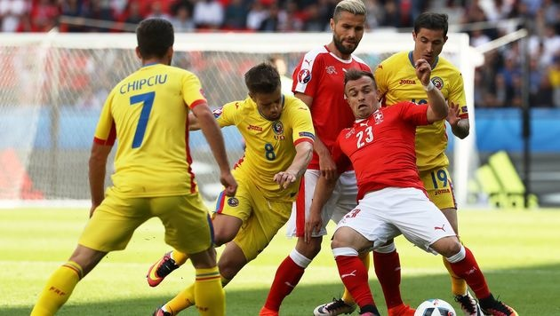 Rumänien überrascht mit 1:1 gegen tattrige Schweiz (Bild: AFP or Licensors)