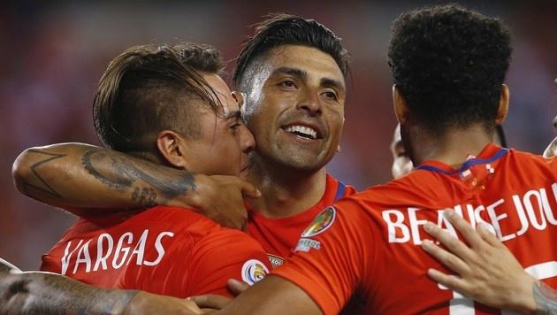 Chile löst letztes Ticket für Copa-Viertelfinale (Bild: Getty Images)