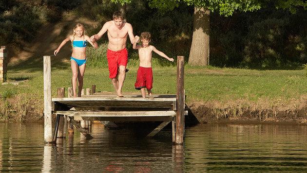 Die schönsten Badeseen für Familien mit Kindern (Bild: thinkstockphotos.de)
