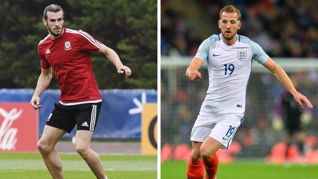 """England vs. Wales: Das Duell der """"Feinde"""" (Bild: AFP)"""