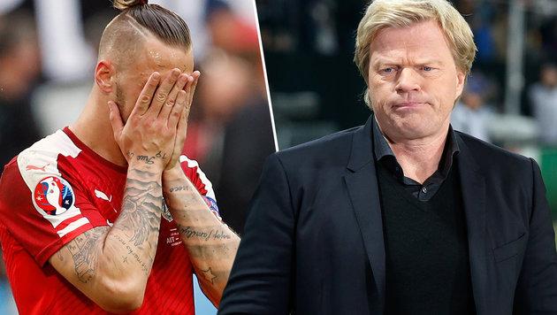 """Kahn kritisiert ÖFB-Team: """"Zu wenig gezeigt!"""" (Bild: AP, GEPA)"""