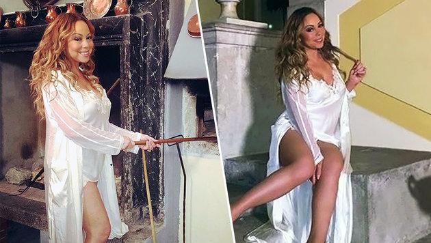 """Mariah Carey: """"Zu Hause trage ich nur Negligés"""" (Bild: Viennareport)"""