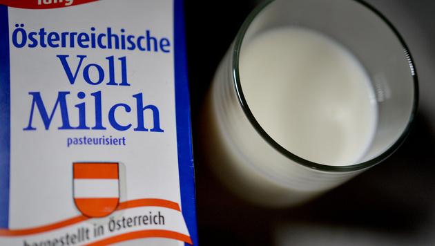Milchgipfel in Wien: Konkrete Hilfe für Bauern (Bild: APA/BARBARA GINDL)