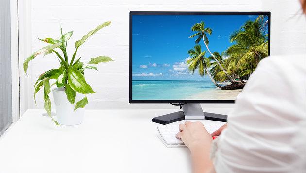 """Urlaubsgefühl im Job lange behalten - so geht""""s! (Bild: thinkstockphotos.de)"""