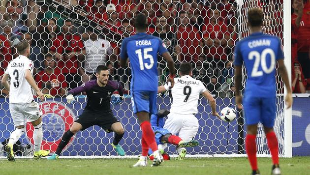 Griezmann & Payet retten Frankreich vor Blamage! (Bild: AP)