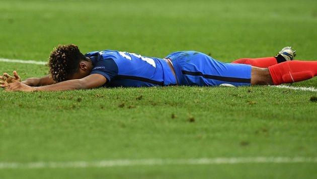 Frankreichs Jungstar Coman wieder im Training (Bild: AFP)