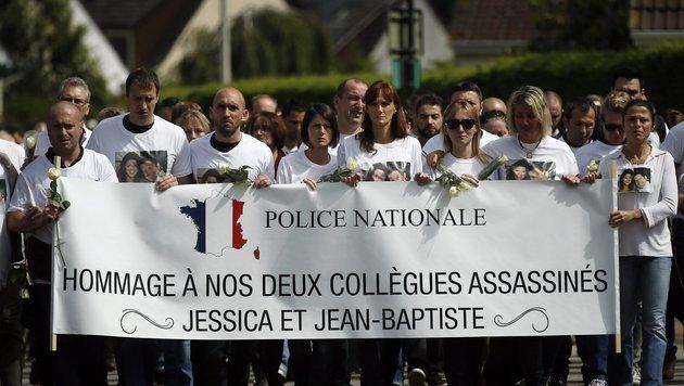 Dieses Powerpaar tötete der Pariser IS-Terrorist (Bild: EPA)