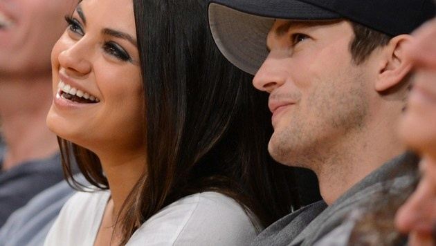 Mila Kunis und Ashton Kutcher (Bild: AFP)