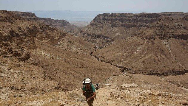Ein Blick auf Nachal Ze'elim (Bild: APA/AFP/Menahem Kahana)