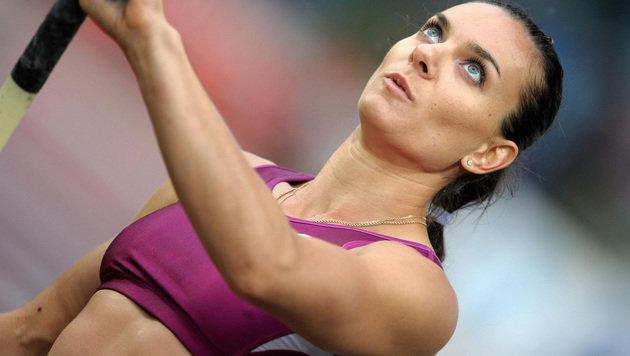"Isinbajewa verlangt: ""Lasst mich in Rio antreten"" (Bild: YORICK JANSENS / AFP / picturedesk.com)"