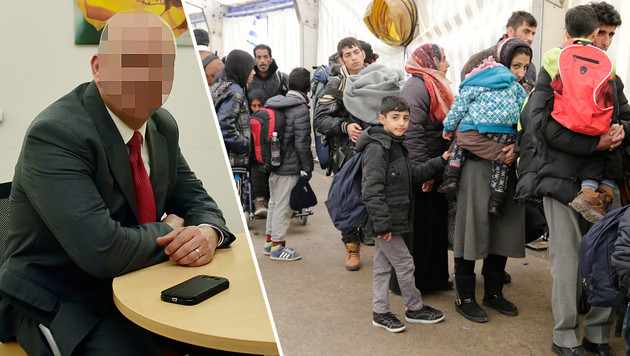 """Der Flüchtlingsansturm 2015 war gewaltig, """"keiner fragte nach meinem Pass"""", schildert Herr A. (Bild: Ricardo, Klemens Groh)"""