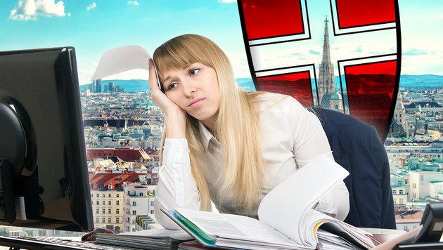 Zufriedenheit im Job: Wiener am unglücklichsten (Bild: thinkstockphotos.de)